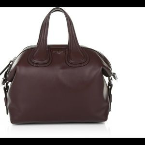 Givenchy small nightingale oxblood NWT a classic